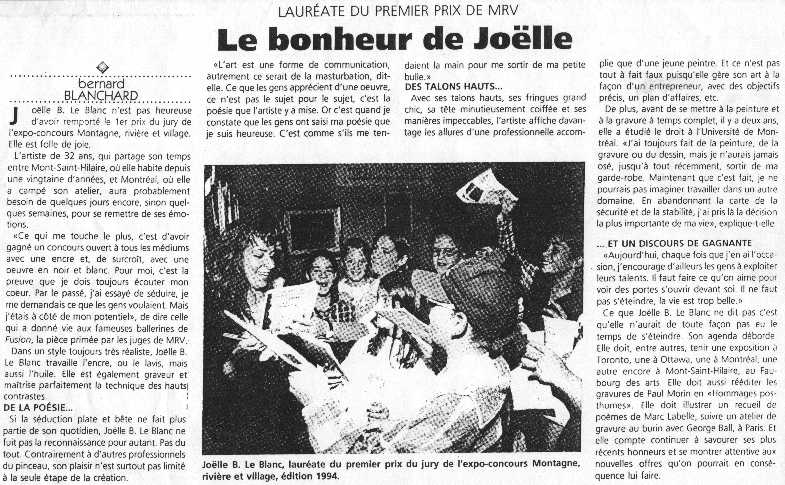 Joëlle's Happiness